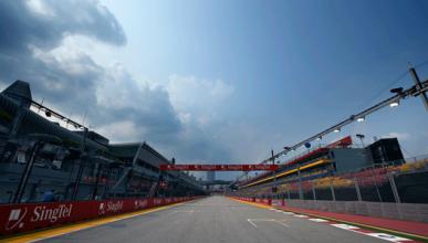Parrilla GP Singapur 2012