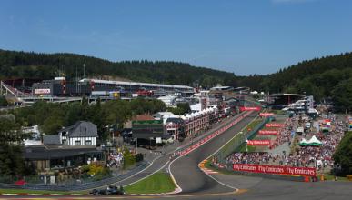 Parrilla de salida del GP de Bélgica 2015