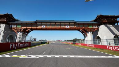 Parrilla de salida - GP Corea F1