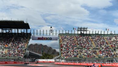 Parrilla de salida del GP México 2015