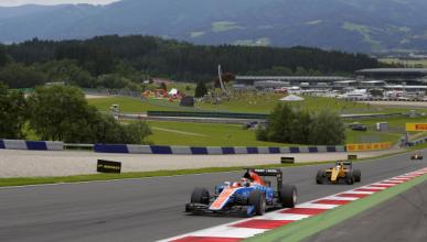 Pascal Wehrlein, el otro 'ganador' del GP de Austria