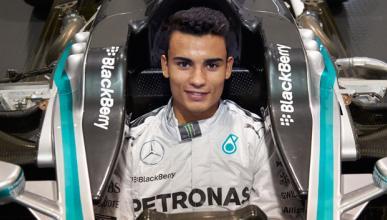 Pascal Wehrlein, piloto reserva de Mercedes