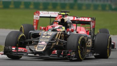 Pastor Maldonado logra sus primeros puntos de 2015