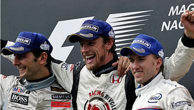 Pedro de la Rosa - podio Hungría 2006