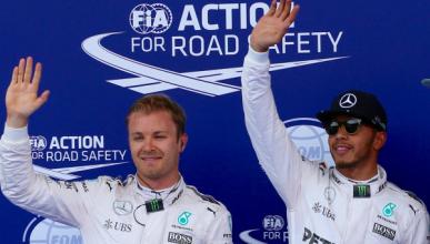La penalización de Hamilton, oportunidad para Rosberg
