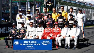 Los pilotos protestan por el actual sistema de F1