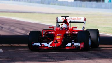 Pirelli prueba con Ferrari los neumáticos de F1 2017