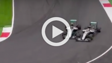 La polémica está servida: nuevo incidente Hamilton-Rosberg