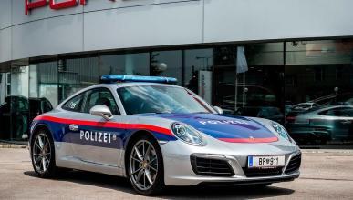 Porsche 911 Policía Austria coches deportivo