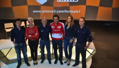 Presentacion Antena 3 F1 2013