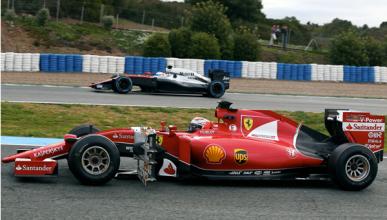 La pretemporada F1 2015 continúa en Barcelona