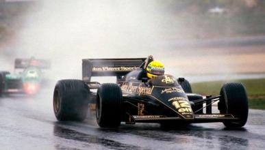 La primera victoria de Ayrton Senna, GP Portugal F1 1985