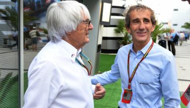 Prost es el mejor piloto de la historia, según Ecclestone