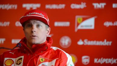 """Räikkönen: """"es un comienzo positivo para Ferrari"""""""