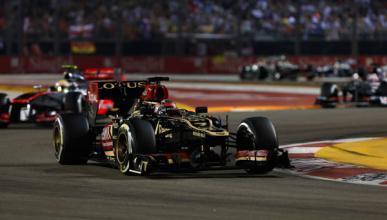 Raikkonen - Lotus - Singapur 2013