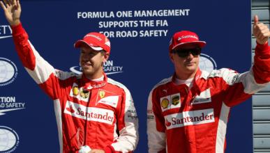 Räikkönen supera a Vettel en la clasificación del GP Italia