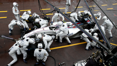 Récord en F1: Williams, el rey de los pit-stop