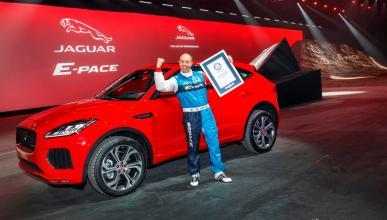 Récord Guinness Jaguar E-Pace