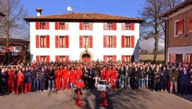Motor-v8-Ferrari-formula-1