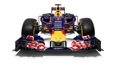 Red Bull nos presenta sus colores de 2015