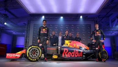 Red Bull presenta sus nuevos colores para 2016