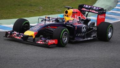 El Red Bull RB11, preparado para debutar en Jerez