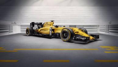 Renault desvela sus colores para la temporada 2016