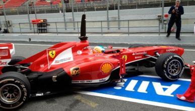 Resumen día 1 tests F1 2013 Montmeló: Alonso tercero