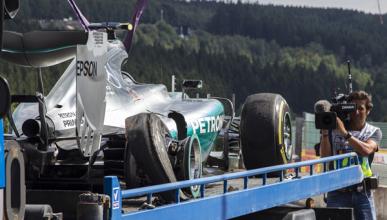 El reventón del neumático de Rosberg no es culpa de Pirelli