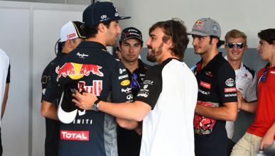 Ricciardo quiere volver a ver a Alonso con un buen coche