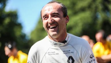 Robert Kubica, en el festival de Goodwood