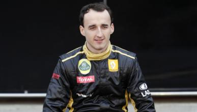 Robert Kubica prueba un Fórmula E