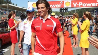 Roberto Merhi se queda sin asiento en F1 para 2016