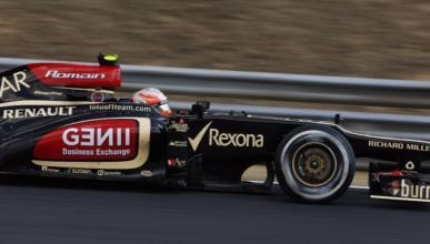 Romain Grosjean Lotus Hungría