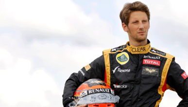 Romain Grosjean - Lotus - Silverstone