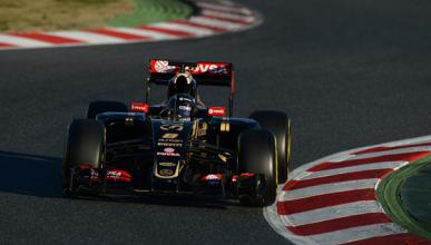 Romain Grosjean, el más rápido en los test F1 de Barcelona