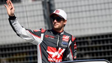 "Romain Grosjean, ""piloto del día"" del GP de Australia 2016"