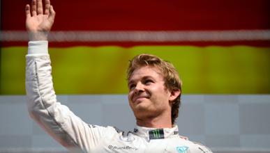 """Rosberg: """"ha sido el mejor podio del año"""""""