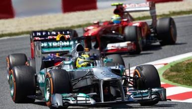 Rosberg - Massa - Mercedes - Ferrari - Montmelo - 2013