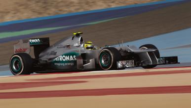 Rosberg - Mercedes - Bahrein