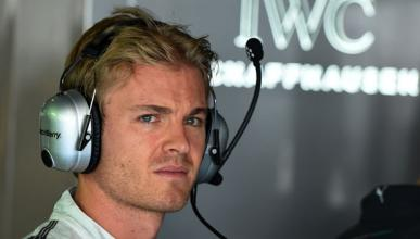 """Rosberg: """"Segundo es un buen puesto para intentar ganar"""""""