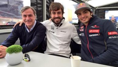"Sainz: ""para mí es importante que Alonso esté en Australia"""