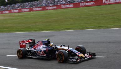 Sainz, satisfecho con su posición de salida en Silverstone