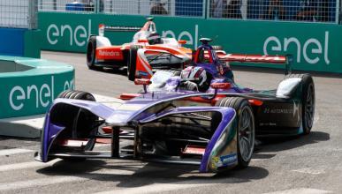 Sam Bird, en la cita de la Fórmula E en Nueva York