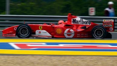 Schumacher Ferrari Hungria