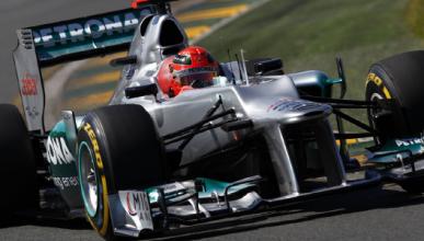 Schumacher - Mercedes - Australia