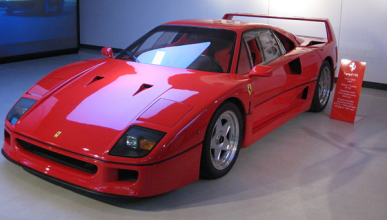Sebastian Vettel compra el Ferrari F40 de Pavarotti