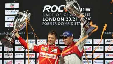 Sebastian Vettel se impone en la Carrera de Campeones 2015