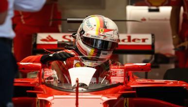 """Sebastian Vettel prueba por primera vez el """"escudo"""" de protección de F1"""
