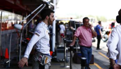 Sergio Canamasas pudo hacer un test con Sauber en Barcelona